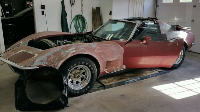 1969 Chevy Corvette Restoration Project or Parts Car for ...