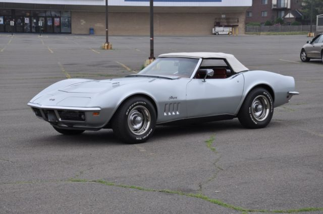 1969 Chevrolet Corvette 69 Corvette Stringray Convertible No Reserve 397HP
