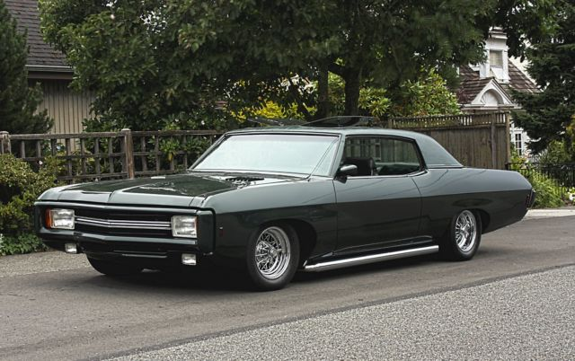 Chevy Caprice Smoke Color Paint