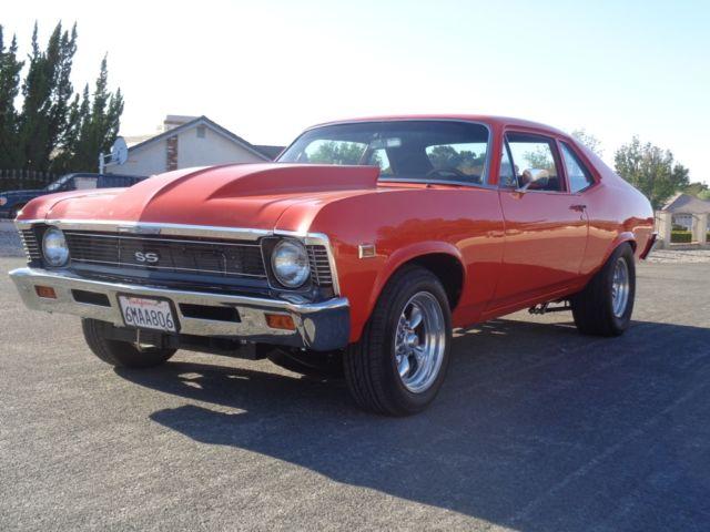 1969 Chevy Nova SS clone show or go 600HP 10 Yr Ground Up