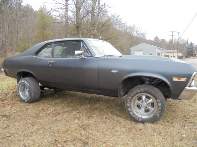 1969 chevy nova yenko clone big block fresh out of storage barn find project for sale photos. Black Bedroom Furniture Sets. Home Design Ideas