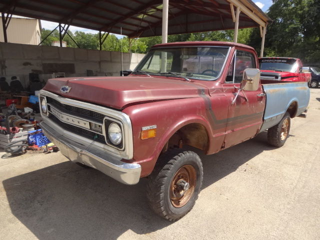 1969 Chevy Truck For Sale >> 1969 Chevy Truck 3 4 Ton 4x4 Rolling Chassis Parts Or Project For