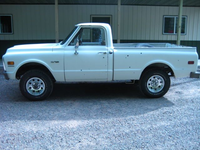 1969 Chevrolet Other Pickups K-10 SHORT BED 4X4