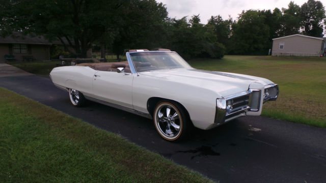 1969 classic pontiac bonneville convertible for sale. Black Bedroom Furniture Sets. Home Design Ideas