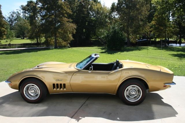 1969 Corvette Convertible L 71 427ci 435hp 4 Speed