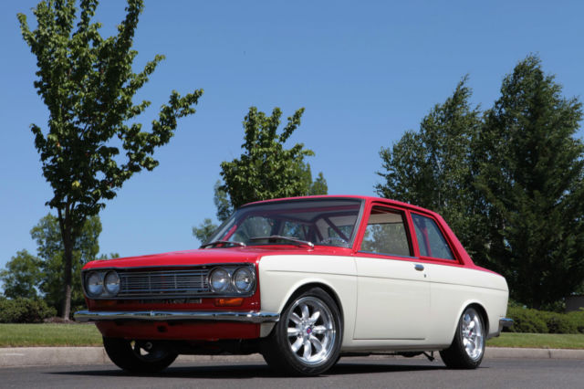 1969 Datsun 510 Sedan Full Custom L18 Weber Sidedrafts