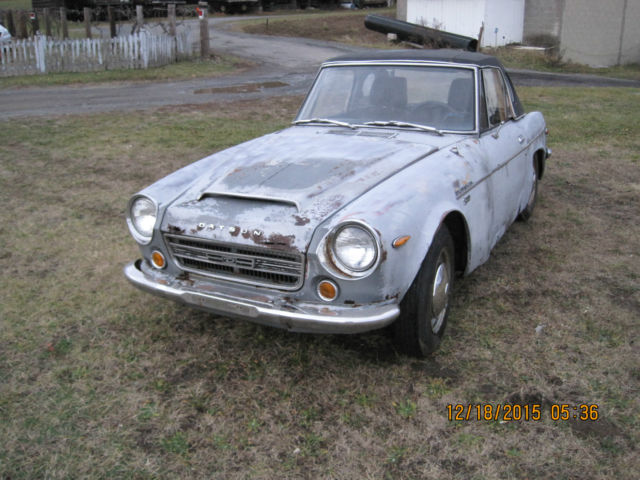 1969 Datsun Other 1969 ROADSTER 1600/ 2000 FAIRLADY  5 SPEED