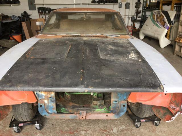 1969 Dodge Charger 383 4 Speed Big Block Project Car