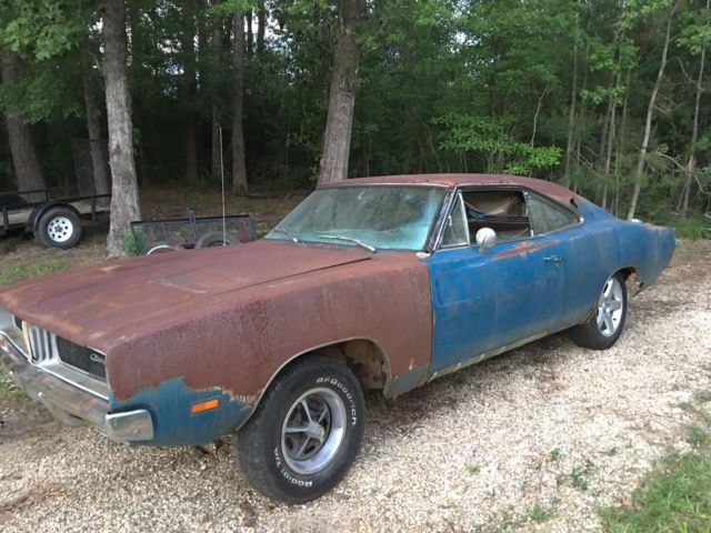 1969 Dodge Charger Dukes Project Car 318 Auto 69 B5 Console Buckets