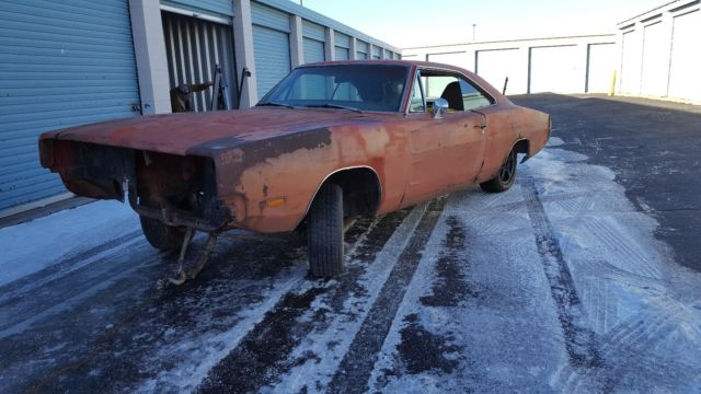 1969 Dodge Charger Project Car General Lee No Reserve For Sale