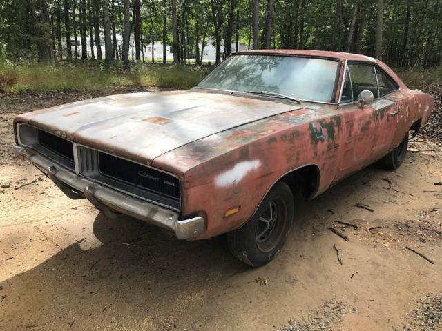 1969 Dodge Charger CHARGER PROJECT ROLLER HIDEWAYS