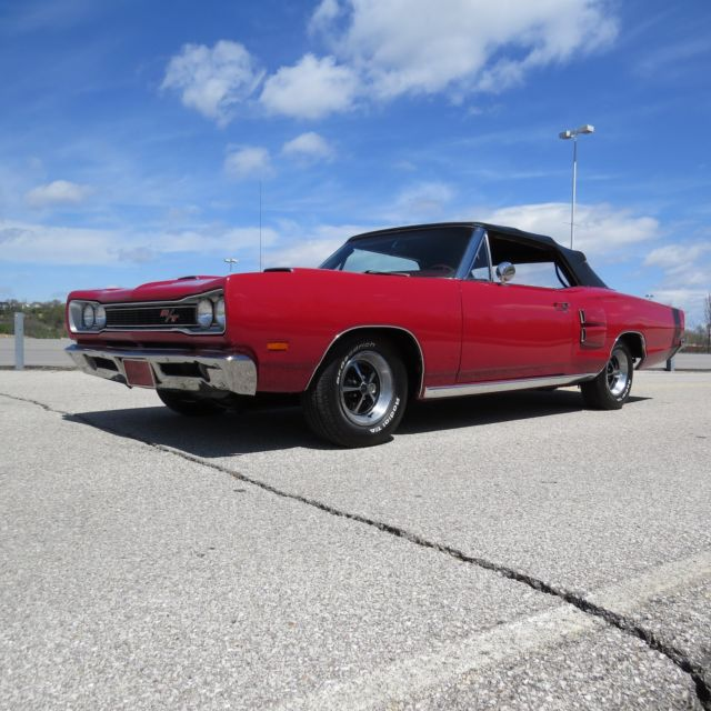 1969 DODGE CORONET R/T CONVERTIBLE MATCHING NUMBERS