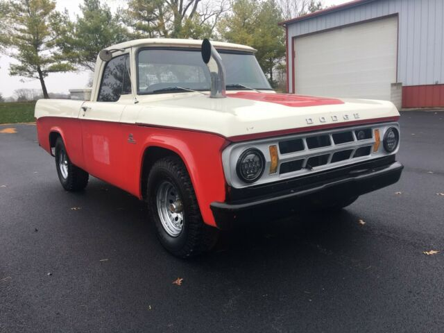1969 Dodge Other Pickups Leather