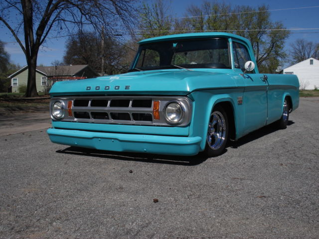 1969 Dodge D100 Pickup For Sale Photos Technical