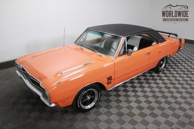 1969 Dodge Dart 340 V8! 6 PACK. DISC BRAKES! RESTORED!