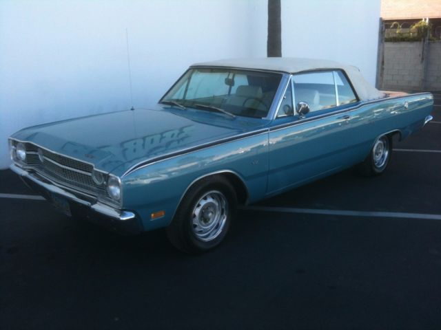 1969 Dodge Dart GT Convertible