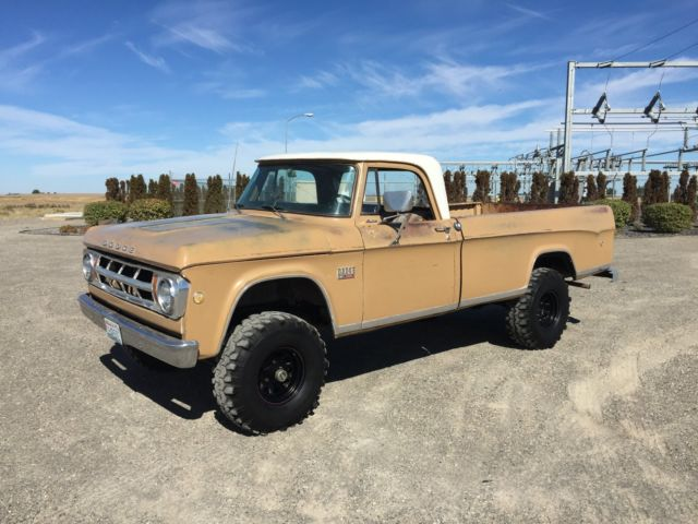 1969 Dodge Other Pickups sweptline