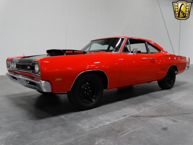 1969 Dodge Super Bee 55000 Miles Red 2 Door 440 Cid Six