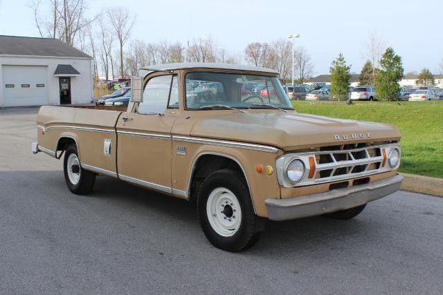 1969 Dodge Truck D200 Camper Special Power Ram 383 for sale: photos