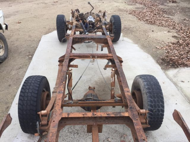 1969 F-250 4x4 HIGHBOY Frame/Suspension Rolling Chassis