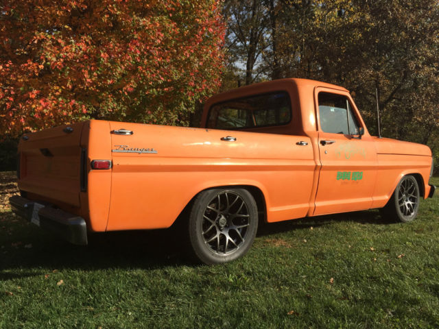 1969 F100 Ford Shop Truck For Sale Photos Technical