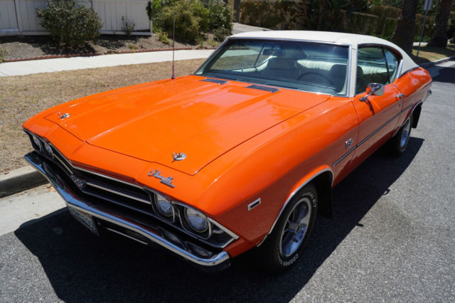 1969 Chevrolet Chevelle FACTORY SS396 WITH ONE CALIFORNIA OWNER SINCE NEW!