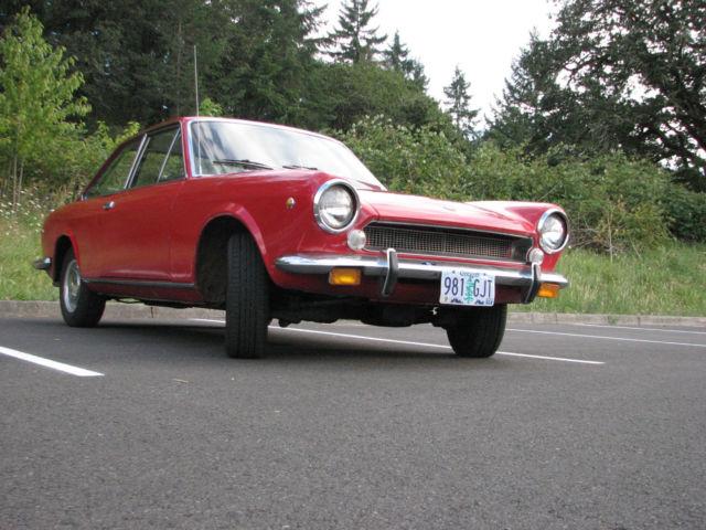 1969 Fiat 124 Base Coupe 2 Door 2 0l For Sale Photos
