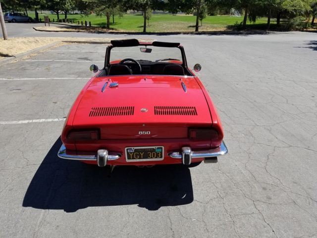 1969 Fiat 850 Spider Convertible for sale: photos ...