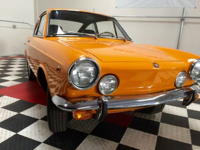 1969 fiat 850 sport coupe fully restored awesome find and. Black Bedroom Furniture Sets. Home Design Ideas