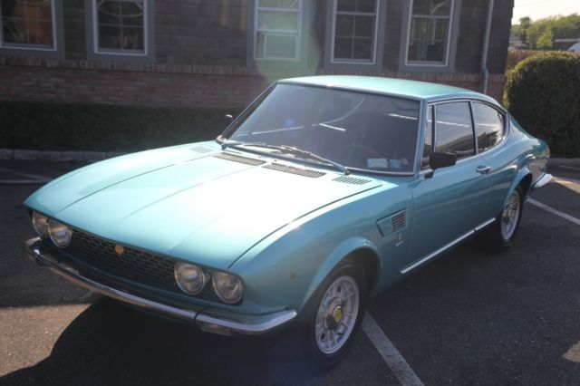 1969 Fiat Dino 2000 Blue 2 Door Coupe For Sale Photos Technical