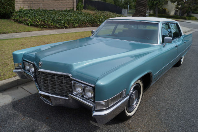 1969 Cadillac Fleetwood FLEETWOOD BROUGHAM WITH 10K ORIGINAL MILES!