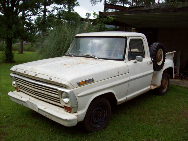 1969 Ford F-100 Short Bed