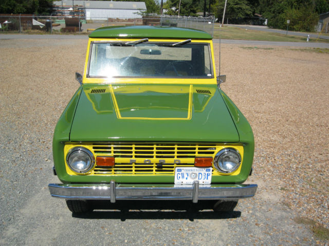 1969 Ford Bronco Base