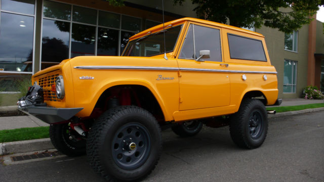 1969 Ford Bronco Custom *1 Owner *$195k build