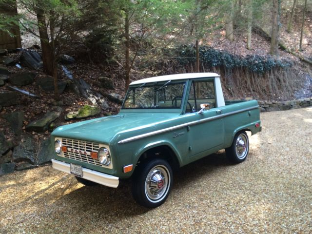 1969 Ford Other Pickups Bronco Half Cab