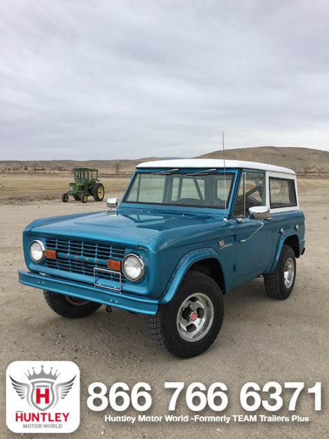 1969 Ford Bronco BLUE