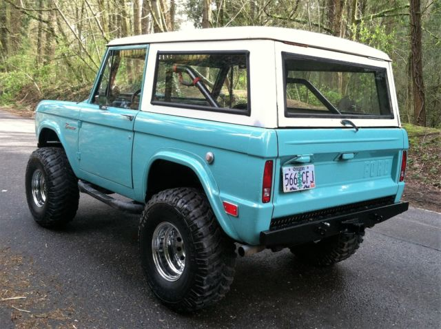 1969 Ford Bronco Restomod Fuel Injected 1966, 1967, 1968 ...