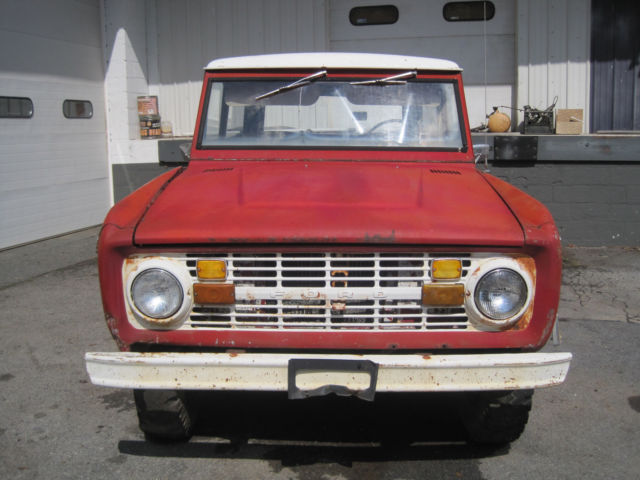 1969 Ford Bronco SPORTS/HD PACKAGE