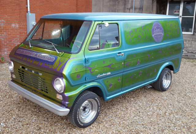 1969 ford e100 econoline short wheel base van for sale photos technical specifications. Black Bedroom Furniture Sets. Home Design Ideas