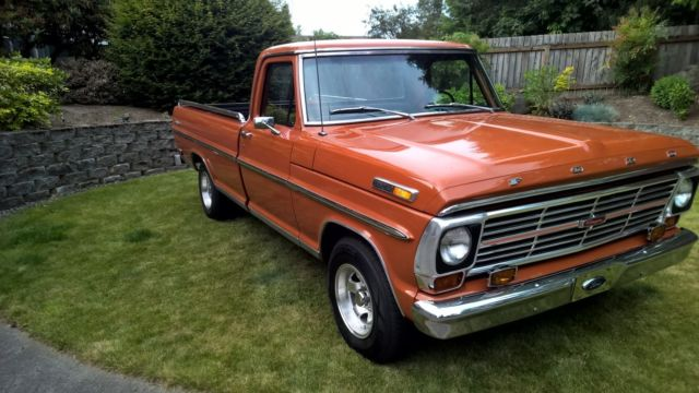 1969 ford f 100 ranger standard cab pickup 2 door 360 for. Black Bedroom Furniture Sets. Home Design Ideas