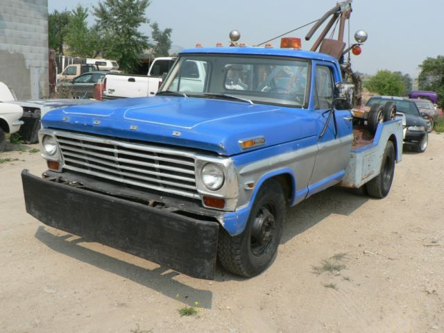 1969 Ford F 350 Wrecker Truck For Sale  Photos  Technical Specifications  Description