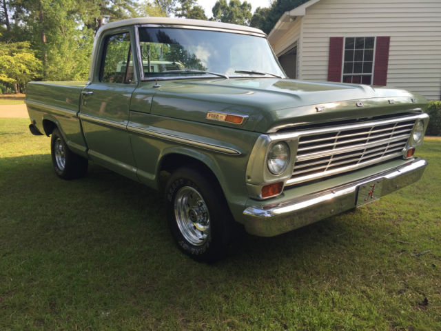 used make ford m...1969 Ford F100 360 Specs
