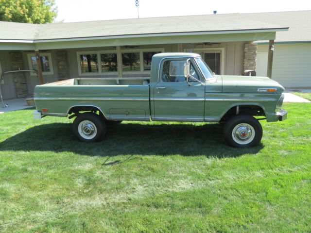 1969 ford f250 4x4 ranger package 390 camper special nice. Black Bedroom Furniture Sets. Home Design Ideas