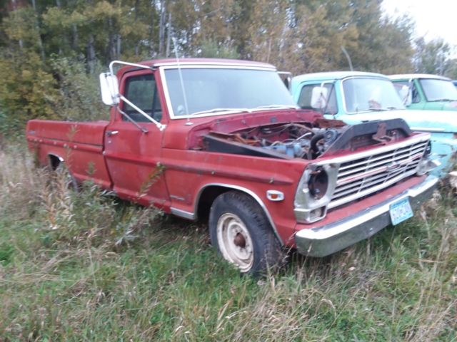 Ford F250 Parts >> 1969 Ford F250 Campers Special Parts Truck For Sale Photos