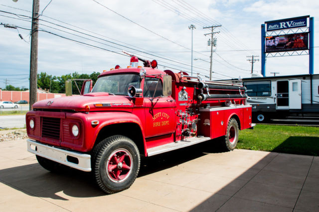 1969 Ford F850 Fire Truck For Sale Photos Technical Specifications