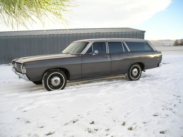 1969 Ford Fairlane Station Wagon (Barn Find)