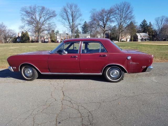 1969 Ford Falcon Futura for sale: photos, technical