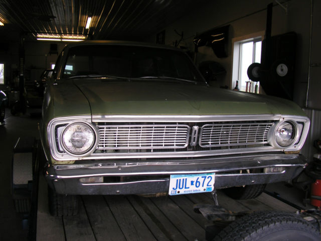 1969 FORD FALCON FUTURA STATION WAGON 4 DOOR 302 V8 ENGINE