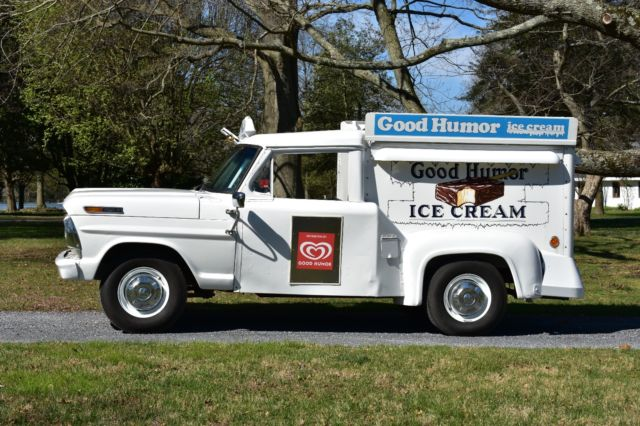 Ice Cream Truck For Sale >> 1969 Ford Good Humor Ice Cream Truck For Sale Photos Technical