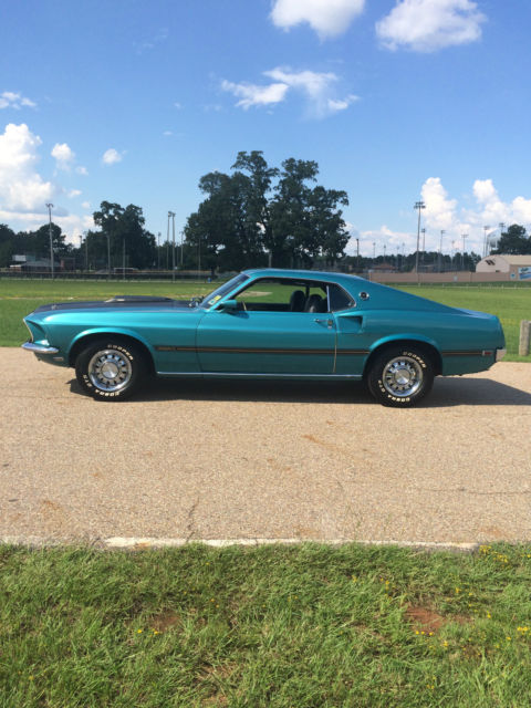 1969 Ford Mustang Mach I Sportsroof